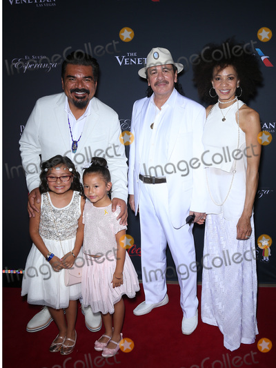 Cindy Blackman Photo - 20 August 2016 - Las Vegas Nevada - George Lopez Carlos Santana Cindy Blackman Eva Longoria hosts Padre Contra El Cancers 2016 El Sueno De Esperanza Celebration at The Venetian Photo Credit MJTAdMedia
