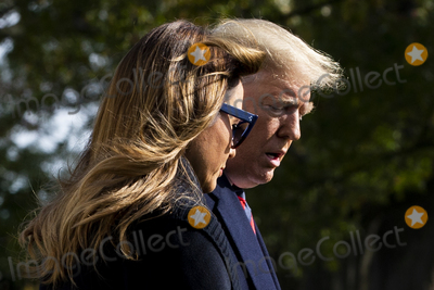 Alabama Photo - US President Donald J Trump (R) and First Lady Melania Trump (L) walk aross the South Lawn of the White House  to depart by Marine One in Washington DC USA 09 November 2019 The President and First Lady will attend a National Collegiate Athletic Association (NCAA) football game between Alabama and Louisiana State University in Tuscaloosa Alabama then they will stay in New York City through Veterans DayCredit Michael Reynolds  Pool via CNPAdMedia