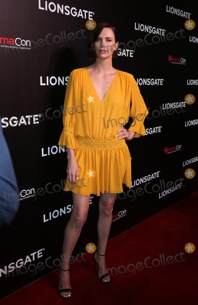 Charlize Theron Photo - 04 April 2019 - Las Vegas NV - Charlize Theron 2019 CinemaCon Lionsgate Studio Presentation at Caesars Palace Photo Credit mjtAdMedia