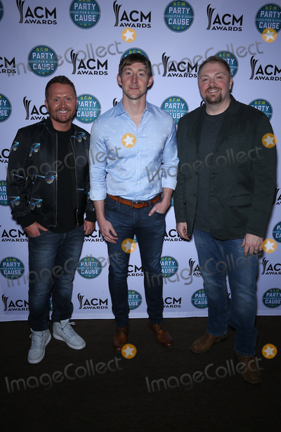 Ashley Gorley Photo - 13 April 2018 - Las Vegas Nevada -  Shane McAnally Ashley Gorley Josh Osborne  ACM Party For A Cause ACM Stories Songs  Stars at The Joint inside The Hard Rock Hotel and Casino Photo Credit MJTAdMedia