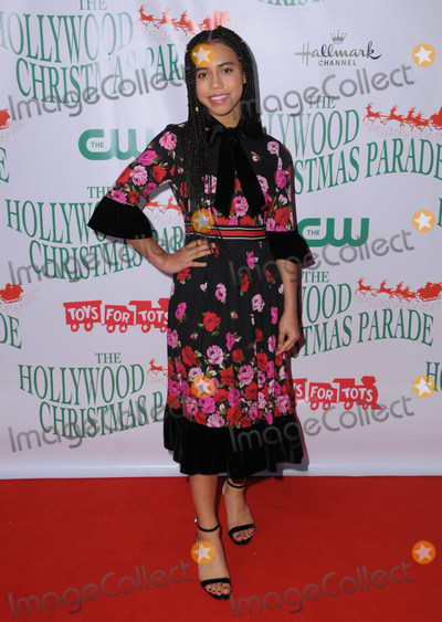 Asia Monet Photo - 26 November  2017 - Hollywood California - Asia Monet Ray The 86th Annual Hollywood Christmas Parade held at Hollywood Blvd  in Hollywood Photo Credit Birdie ThompsonAdMedia