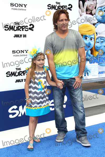 Anna Nicole Smith Photo - 28 July 2013 - Westwood California - Dannielynn Marshall Larry Birkhead (Larry and Anna Nicole Smith Smurfs 2 Los Angeles Premiere held at the Regency Village Theatre Photo Credit Russ ElliotAdMedia