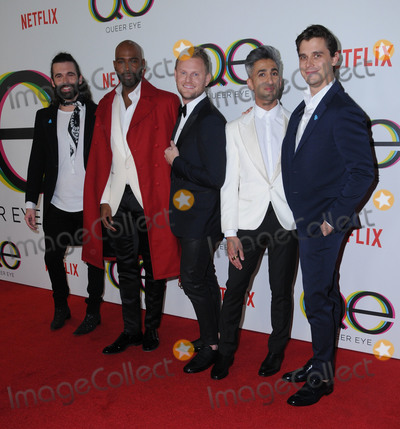 Antoni Porowski Photo - 07 February 2018 - West Hollywood California - Jonathan Van Ness Kamaro Brown Bobby Berk Tan France Antoni Porowski Netflixs Queer Eye Season 1 Premiere held at the Pacific Design Center Photo Credit Birdie ThompsonAdMedia