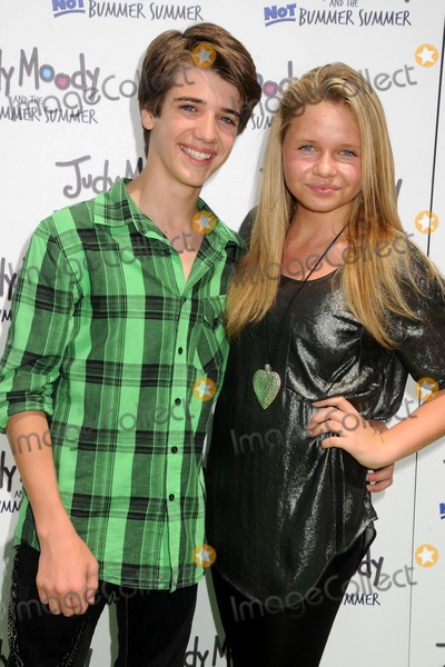 Alli Simpson Photo - 4 June 2011 - Hollywood California - Brandon Tyler Russell and Alli Simpson Judy Moody and the Not Bummer Summer Los Angeles Premiere held at Arclight Cinemas Photo Credit Byron PurvisAdMedia