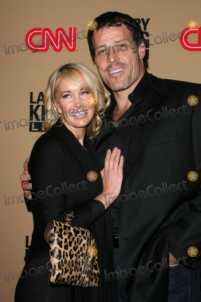 Tony Robbins Photo - 16 December 2010 - Beverly Hills California - Tony Robbins and wife Sage Robbins CNNs Larry King Live Final Broadcast Wrap Party held at at Spago Photo Byron PurvisAdMedia