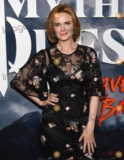 Emily Deschanel Photo - 29 January 2020 - Hollywood California - Emily Deschanel Premiere of Apple TVs Mythic Quest Ravens Banquet at The Cinerama Dome Photo Credit Billy BennightAdMedia
