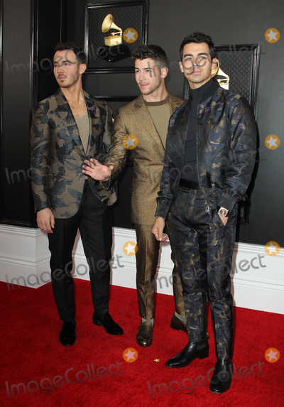 Jonas Brothers Photo - 26 January 2020 - Los Angeles California - Kevin Jonas Nick Jonas Joe Jonas Jonas Brothers 62nd Annual GRAMMY Awards held at Staples Center Photo Credit AdMedia