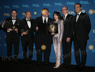 Alexandre Desplat Photo - 03 February 2018 - Beverly Hills California - Guillermo del Toro Alexandre Desplat Sally Hawkins Richard Jenkins J Miles Dale 70th Annual Directors Guild Of America Awards held at the Beverly Hilton Photo Credit F SadouAdMedia