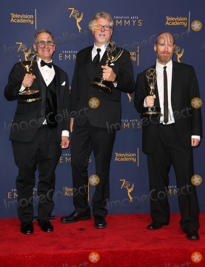 Elmo Photo - 08 September 2018 - Los Angeles California - Todd Beckett Elmo Ponsdomenech Ben Patrick 2018 Creative Arts Emmys Awards held at Microsoft Theater Photo Credit F SadouAdMedia