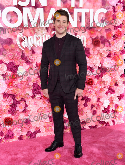 Adam DeVine Photo - 11 February 2019 - Los Angeles California - Adam Devine Isnt It Romantic Los Angeles Premiere held at the Theater at Ace Hotel Photo Credit Birdie ThompsonAdMedia