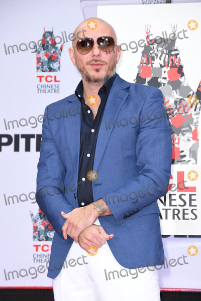 TCL Chinese Theatre Photo - 14 December 2018 - Hollywood California - Pitbull Pitbull Hand And Footprint Ceremonyheld at TCL Chinese Theatre Photo Credit Birdie ThompsonAdMedia