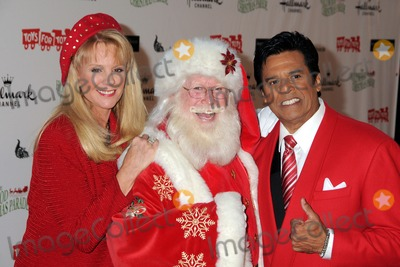 Laura McKenzie Photo - 27 November 2011 - Hollywood California - Laura McKenzie and Erik Estrada 80th Anniversary Hollywood Christmas Parade held on Hollywood Blvd Photo Credit Byron PurvisAdMedia