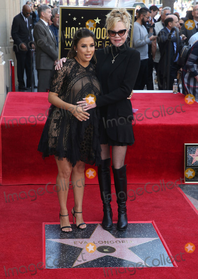 Melanie Griffith Photo - 16 April 2018 - Hollywood California - Eva Longoria and Melanie Griffith Eva Longoria Honored With Star on The Hollywood Walk Of Fame Photo Credit F SadouAdMedia