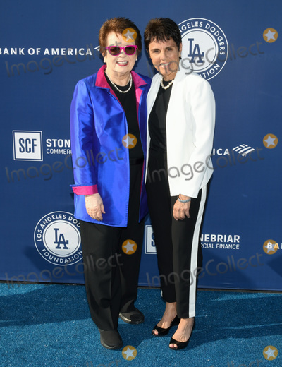 Billie Jean King Photo - 12 June 2019 - Los Angeles California - Billie Jean King Ilana Kloss Los Angeles Dodgers Foundation Blue Diamond Gala held at Dodger Stadium Photo Credit Billy BennightAdMedia