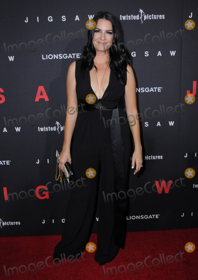 Natalia Cigliuti Photo - 25 October  2017 - Hollywood California - Natalia Cigliuti Jigsaw Los Angeles Premiere held at ArcLight Hollywood in Hollywood Photo Credit Birdie ThompsonAdMedia