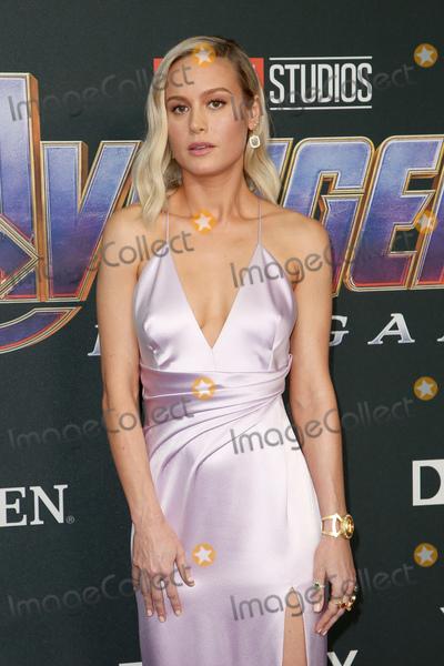 Brie Larson Photo - 22 April 2019 - Los Angeles California - Brie Larson Marvel Studios Avengers Endgame Los Angeles Premiere held at Los Angeles Convention Center Photo Credit F SadouAdMedia