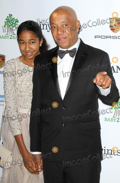 Aoki Lee Photo - 8 November 2014 - Los Angeles California - Russell Simmons and daughter Aoki Lee Simmons 2014 Baby2Baby Gala Honoring Kate Hudson held at The Book Bindery Photo Credit AdMedia