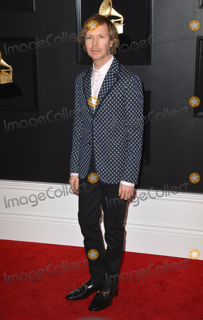 Beck Photo - 10 February 2019 - Los Angeles California - Beck 61st Annual GRAMMY Awards held at Staples Center Photo Credit AdMedia