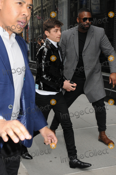 Asher Angel Photo - 15 March 2019 - New York New York - Asher Angel promotes new movie SHAZAM at the AOL Build Series NYC at the AOL Studios in NoHo Photo Credit LJ FotosAdMedia