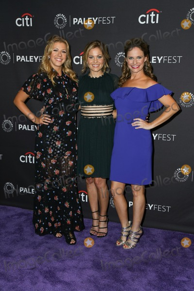 Candace Cameron Photo - 14 September 2017 - Beverly Hills California - Jodie Sweetin Candace Cameron-BureAndrea Barber The Paley Center for Medias 11th Annual PaleyFest fall TV previews Los Angeles for Netflix at held at The Paley Center for Medi Photo Credit PMAAdMedia