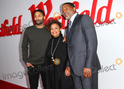 Norm Nixon Photo - 03 October 2017 - Century City California - Debbie Allen with husband Norm Nixon and thier son Norm Nixon Jr Westfield Century City Reopening Celebration Photo Credit AdMedia