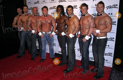 Chippendales Dancers Photo - 12 February 2011 - Las Vegas Nevada - Chippendales dancers Ronnie Magro from MTV Jersey Shore guest hosts Chippendales in Las Vegas at the Rio All Suite Hotel Casino Photo MJTAdMedia