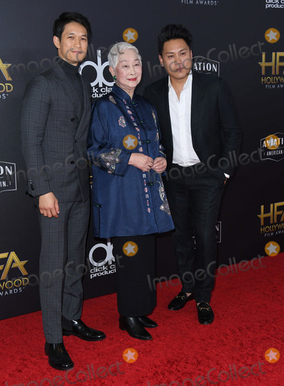 Jon M Chu Photo - 04 November 2018 - Beverly Hills California - Harry Shum Jr Lisa Lu Jon M Chu 22nd Annual Hollywood Film Awards held at Beverly Hilton Hotel Photo Credit Birdie ThompsonAdMedia