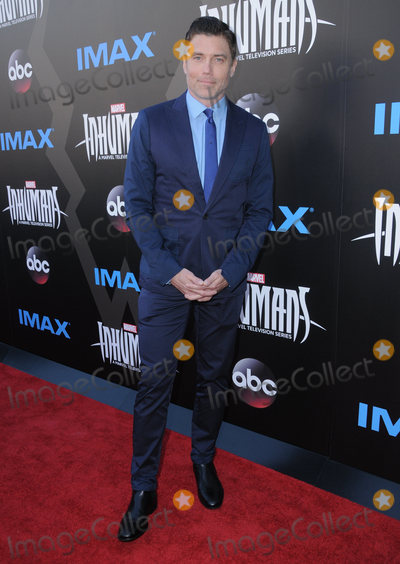 Anson Mount Photo - 28 August  2017 - Universal City California - Anson Mount IMAX Marvels Inhumans World Premiere held at Universal Citywalk in Universal City Photo Credit Birdie ThompsonAdMedia