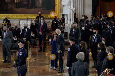 Representative Nancy Pelosi Photo - United States President Joseph R Biden Jr and Speaker of the US House of Representatives Nancy Pelosi (Democrat of California) attend a lying in honor ceremony for US Capitol Police officer William Billy Evans in the Rotunda of the US Capitol in Washington DC on Tuesday April 13 2021 Credit Amr Alfiky  Pool via CNPAdMedia