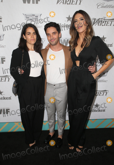Abbi Jacobson Photo - 15 September 2018 - West Hollywood California - Abbi Jacobson Paul W Downs DArcy Carden Variety and Women in Film 2018 Television Nominees Celebration sponsored by Cadillac and Heineken held at Cecconis Photo Credit Faye SadouAdMedia