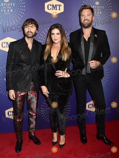 Dave Haywood Photo - 16 October 2019 - Nashville Tennessee - Dave Haywood Hillary Scott Charles Kelley Lady Antebellum 2019 CMT Artist of the Year at Schermerhorn Symphony Center Photo Credit Dara-Michelle FarrAdMedia