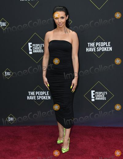 Shay Photo - 10 November 2019 - Santa Monica California - Scheana Shay 2019 Peoples Choice Awards held at Barker Hangar Photo Credit Birdie ThompsonAdMedia