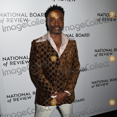 The National Photo - 08 January 2020 - New York New York - Billy Porter at the National Board of Review Annual Awards Gala held at Cipriani 42nd Street Photo Credit LJ FotosAdMedia