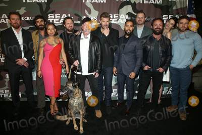AJ Buckley Photo - 25  February 2020 - Hollywood California - Justin Melnick Neil Brown Jr Toni Trucks AJ Buckley David Boreanaz Jessica Pare Max Thieriot and Judd Lormand SEAL Team TV show premiere held at ArcLight Cinemas Photo Credit FSAdMedia
