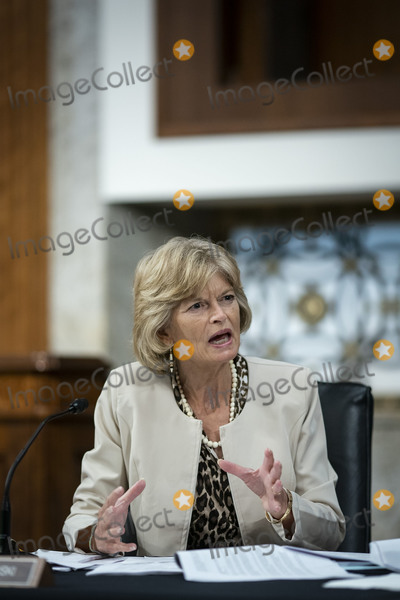 alaska Photo - United States Senator Lisa Murkowski (Republican of Alaska) speaks during a Senate Health Education Labor and Pensions Committee hearing in Washington DC US on Tuesday June 30 2020 Top federal health officials are expected to discuss efforts to get back to work and school during the coronavirus pandemic Credit Al DragoCNPAdMedia