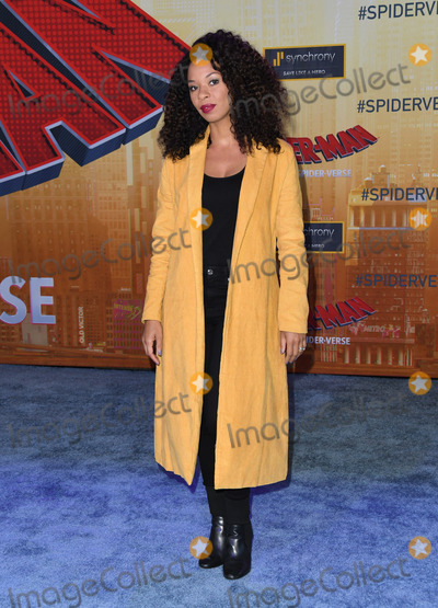 Ange Parker Photo - 01 December 2018 - Westwood California - Ange Parker Spider-Man Into The Spider-Verse Los Angeles Premiere held at The Regency Village Theater Photo Credit Birdie ThompsonAdMedia