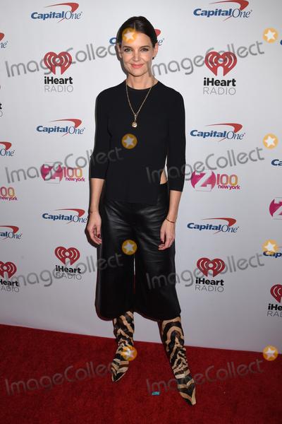 Katie Holmes Photo - 13 December 2019 - New York New York - Katie Holmes at iHeart Radio Z100s 2019 Jingle Ball at Madison Square Garden Photo Credit LJ FotosAdMedia