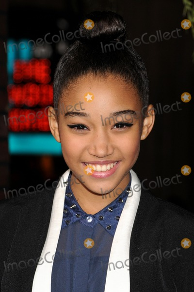 Amandla Stenberg Photo - 6 February 2013 - Hollywood California - Amandla Stenberg Beautiful Creatures Los Angeles Premiere held at the TCL Chinese Theatre Photo Credit Byron PurvisAdMedia