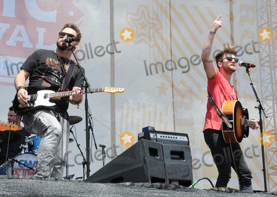 Colton Swon Photo - 13 June 2015 - Nashville Tennessee - The Swon Brothers Zach Swon Colton Swon 2015 CMA Music Festival Day Three held at the Chevrolet Riverfront Stage Photo Credit Dara-Michelle FarrAdMedia