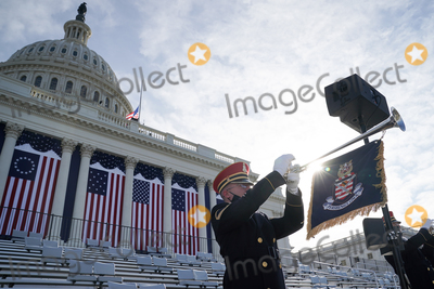 US Army Photo - The US Army Band performs during a dress rehearsal for the 59th inaugural ceremony for President-elect Joe Biden and Vice President-elect Kamala Harris on Monday January 18 2021 at the US Capitol in Washington DCCredit Greg Nash  Pool via CNPAdMedia