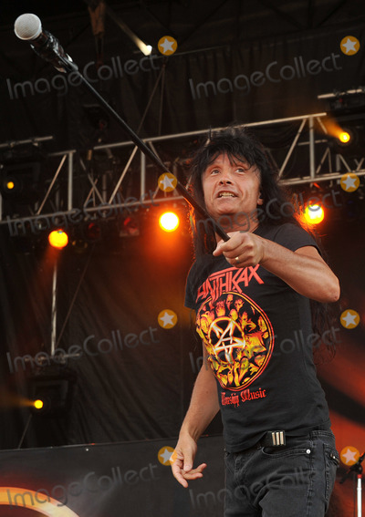Anthrax Photo - 20 May 2012 - Columbus OH -  Lead vocalist JOEY BELLADONNA of the thrash metal band ANTHRAX performs at Day 2 of the  Rock On The Range Festival held at Crew Stadium Photo Credit Jason L NelsonAdMedia