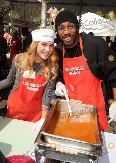 Allison Holker Photo - 29 March 2013 - Los Angeles California - Allison Holker Stephen Boss Twitch Los Angeles Mission Easter Event held at the Los Angeles Mission Photo Credit Byron PurvisAdMedia