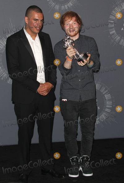 Ed Sheeran Photo - 24 August  2014 - Inglewood California - Emil Nava Ed Sheeran 2014 MTV Video Music Awards held at The Forum Photo Credit F SadouAdMedia