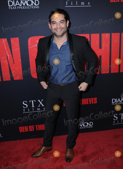 Juanes Photo - 17 January 2018 - Los Angeles California - Juan Gabriel Pareja Den of Thieves Los Angeles Premiere held at Regal Cinemas LA Live Photo Credit Birdie ThompsonAdMedia