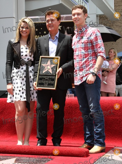 Scotty McCreery Photo - 23 May 2011 - Hollywood California - Lauren Alaina Simon Fuller Scotty McCreery Simon Fuller Hollywood Walk Of Fame Induction Ceremony  Held On Hollywood Blvd Photo Credit Kevan BrooksAdMedia