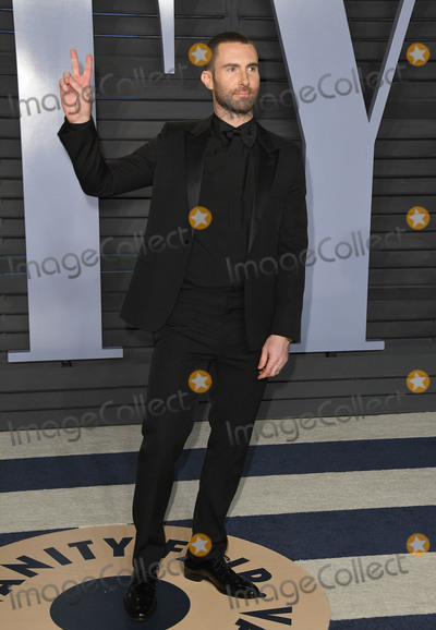 Adam Levine Photo - 04 March 2018 - Los Angeles California - Adam Levine 2018 Vanity Fair Oscar Party hosted following the 90th Academy Awards held at the Wallis Annenberg Center for the Performing Arts Photo Credit Birdie ThompsonAdMedia