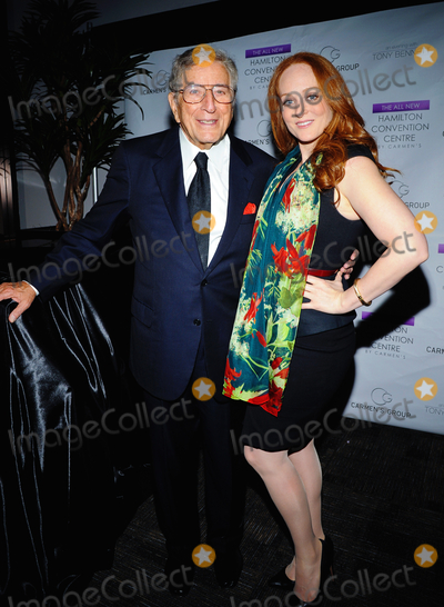 Antonia Bennett Photo - 08 November 2013 - Hamilton Ontario Canada  Legendary singer Tony Bennett with daughter jazz singer Antonia Bennett backstage at the Hamilton Convention Centre By Carmens for a benefit in support of the Canadian Diabetes Association Photo Credit Brent PerniacAdMedia