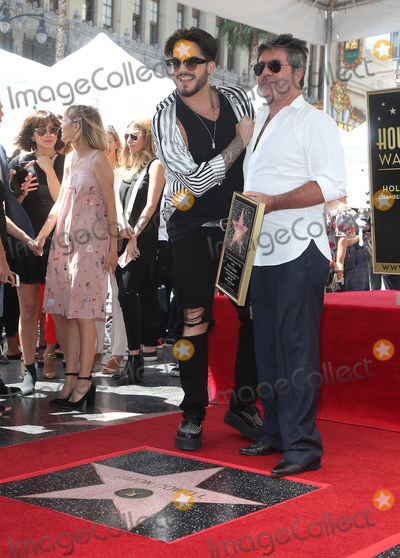 Adam Lambert Photo - 22 August 2018 - Hollywood California - Adam Lambert Simon Cowell Simon Cowell Honored With Star On The Hollywood Walk Of Fame Photo Credit Faye SadouAdMedia
