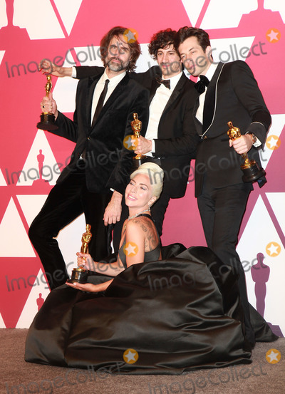 Mark Ronson Photo - 24 February 2019 - Hollywood California- Lady Gaga Mark Ronson Anthony Rossomando and Andrew Wyatt 91st Annual Academy Awards presented by the Academy of Motion Picture Arts and Sciences held at Hollywood  Highland Center Photo Credit Theresa ShirriffAdMedia
