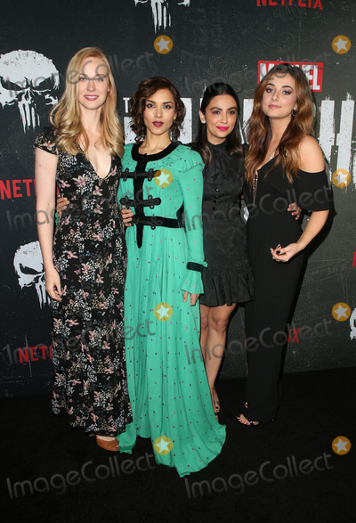 Amber Rose Photo - 14 January 2019 - Hollywood California - Deborah Ann Woll Amber Rose Revah Floriana Lima Giorgia Whigham Marvels The Punisher Seasons 2 Premiere held at ArcLight Hollywood Photo Credit Faye SadouAdMedia
